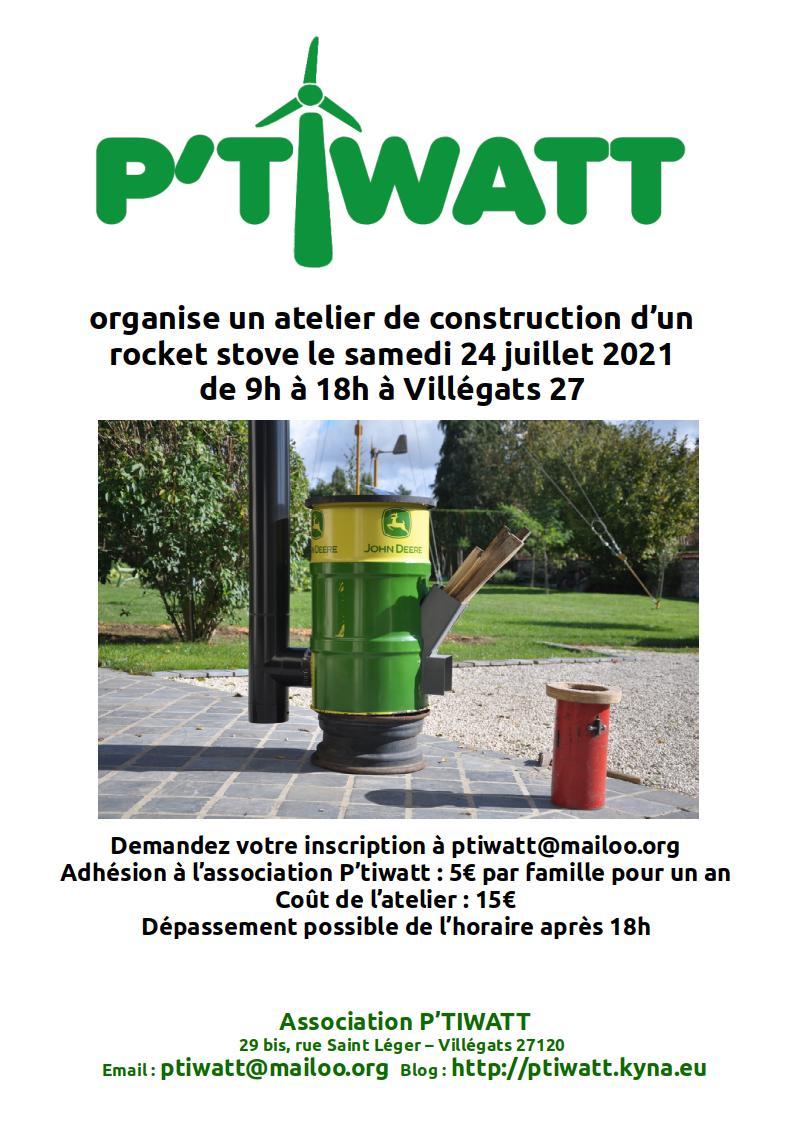 2021-affiche-ptiwatt-rocket-stove.jpg, juin 2021